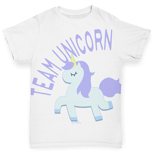 Team Unicorn Baby Toddler ALL-OVER PRINT Baby T-shirt