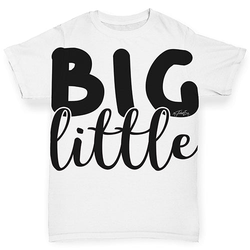 Big Little Baby Toddler ALL-OVER PRINT Baby T-shirt