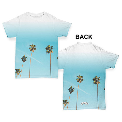 Summer Palm Trees Baby Toddler ALL-OVER PRINT Baby T-shirt