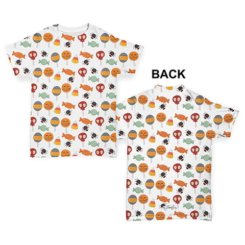 Halloween Candy Baby Toddler ALL-OVER PRINT Baby T-shirt