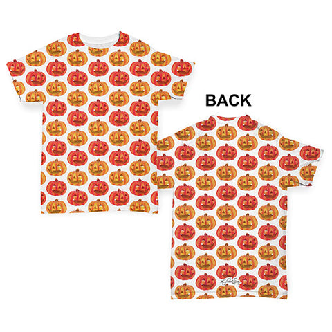 Lots Of Pumpkins Pattern Baby Toddler ALL-OVER PRINT Baby T-shirt