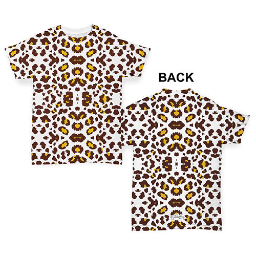 Leopard Print Pattern Baby Toddler ALL-OVER PRINT Baby T-shirt