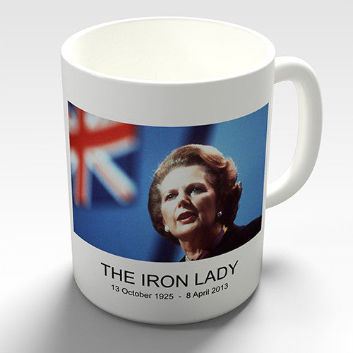 Margaret Thatcher Iron Lady Ceramic Mug