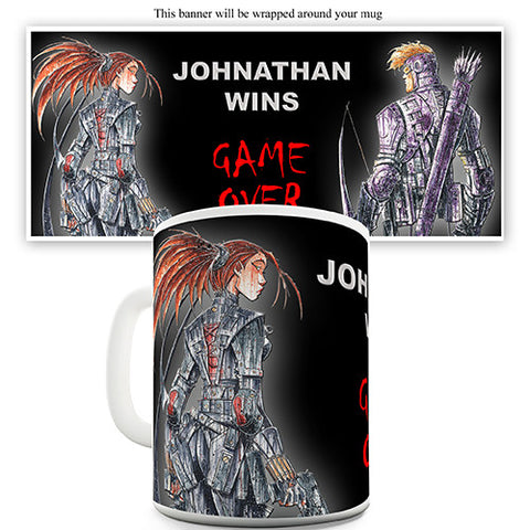 Gamers Personalised Mug