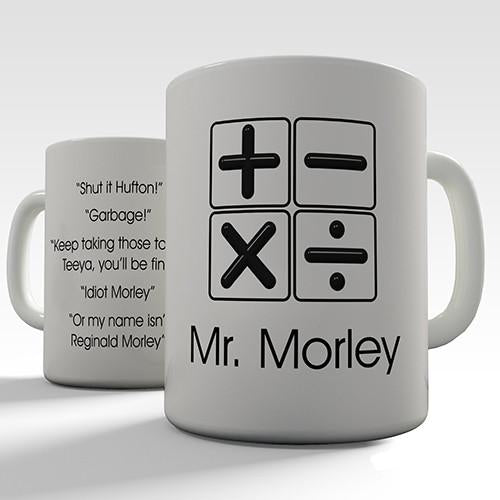 Maths Teacher Personalised Mug