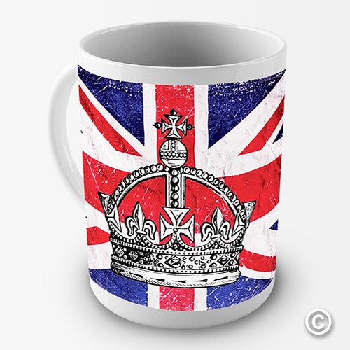British Union Flag Novelty Mug