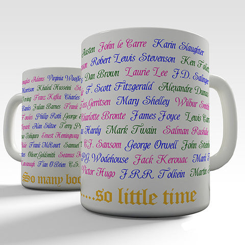So Many Books So Little Time Novelty Mug