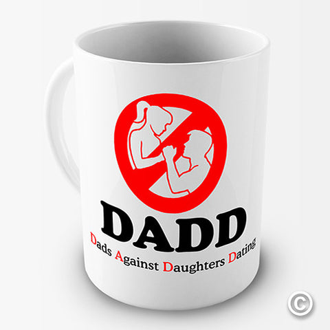 Dads Against Daughters Dating Funny Mug