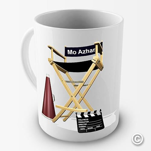Directors Chair Personalised Mug