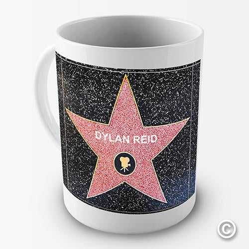 Hollywood Walk Of Fame Personalised Mug