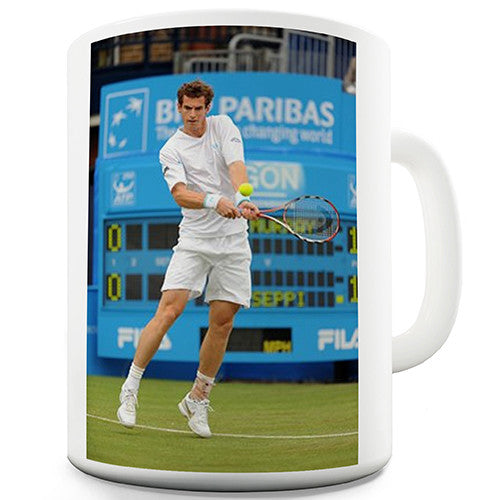Andy Murray Tribute Novelty Mug