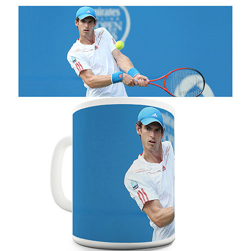 Andy Murray Champion Blue Novelty Mug