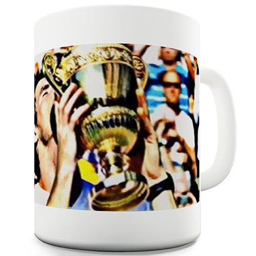 Andy Murray Wimbledon Trophy Kiss Novelty Mug