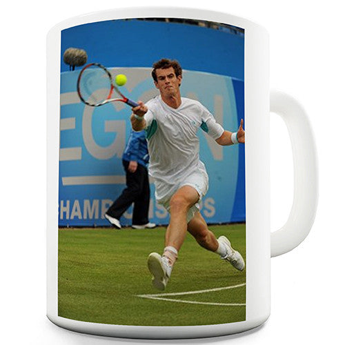 Andy Murray Tennis Novelty Mug