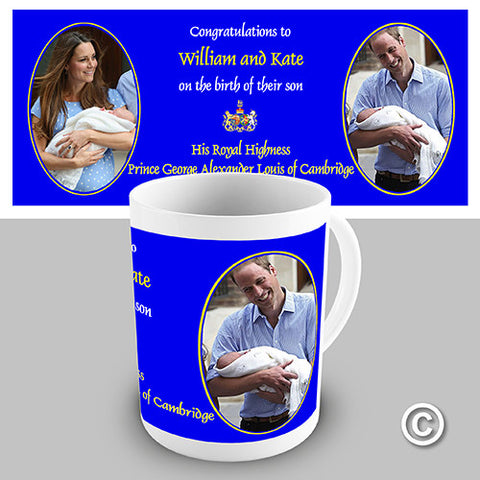 Royal Baby Novelty Mug
