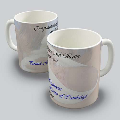 Baby Prince George Of Cambridge Novelty Mug