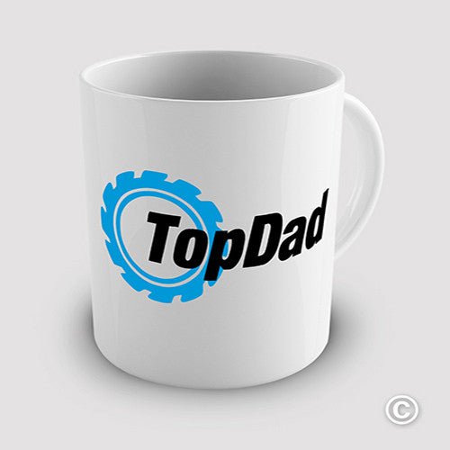 Top Dad Novelty Mug