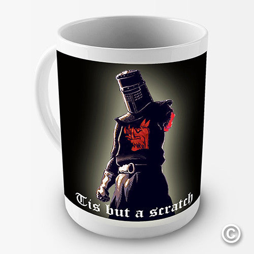 Holy Grail Tis But A Scratch Novelty Mug