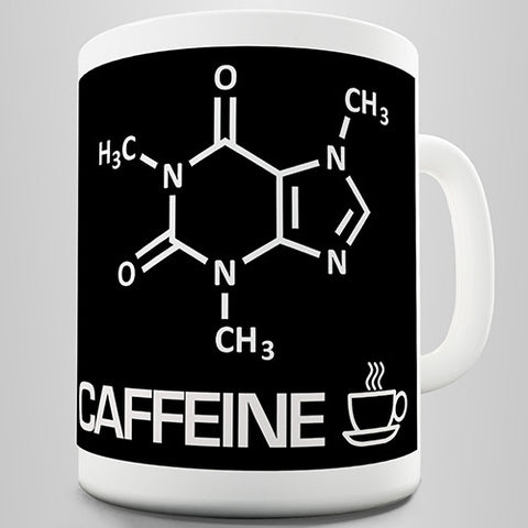 Chemical Formula Caffeine Novelty Mug