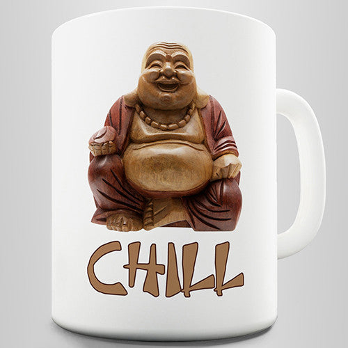 Chill Buddha Novelty Mug