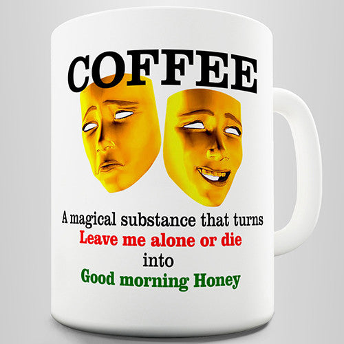 Magic Of Coffee Novelty Mug