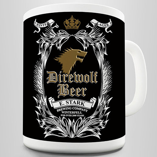 Dire Wolf Beer Novelty Mug