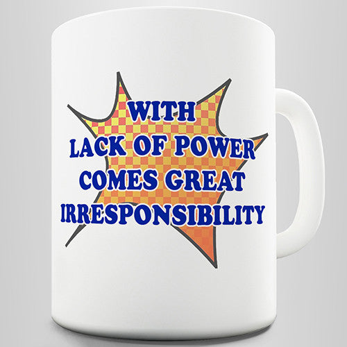 Comic Book Quote Novelty Mug