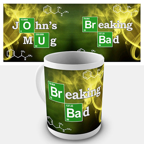 Breaking Bad Inspired Personalised Mug