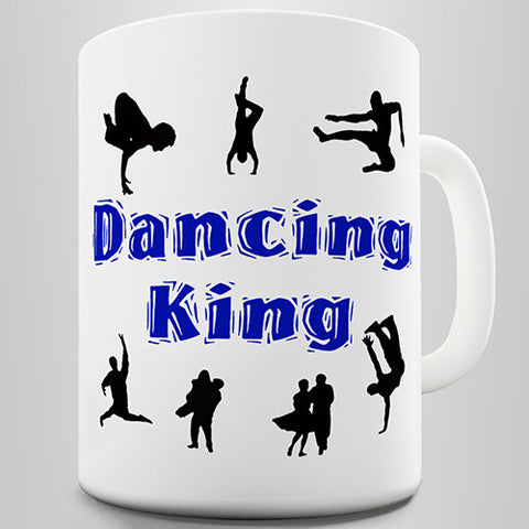 Dancing King Novelty Mug