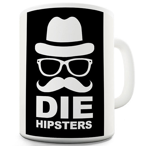 Die Hipsters Moustache Novelty Mug
