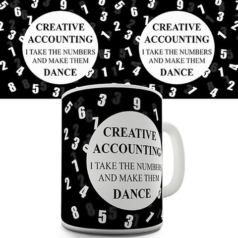 Creative Accounting Novelty Mug