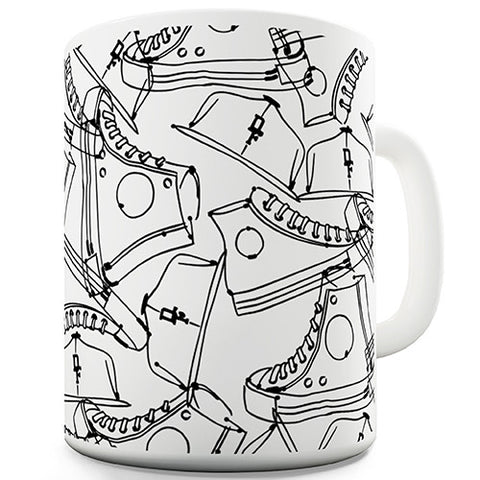 Snapbacks & Converse Novelty Mug
