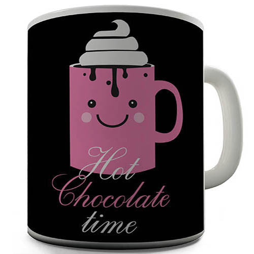 Hot Chocolate Time Novelty Mug