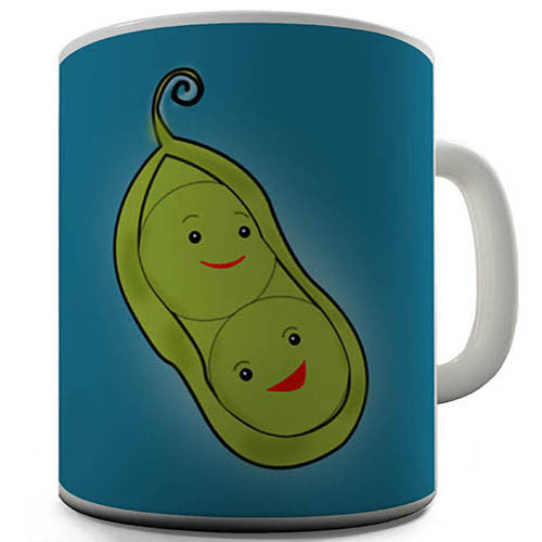 Two Peas In A Pod Novelty Mug