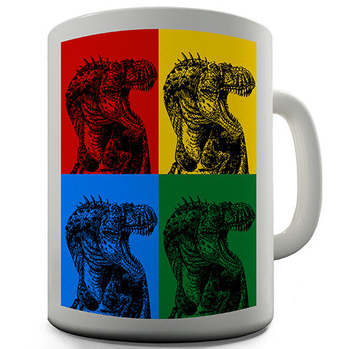 Dinosaur Pop Art Novelty Mug