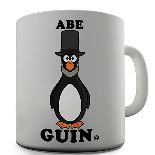 Abe Guin Penguin Novelty Mug