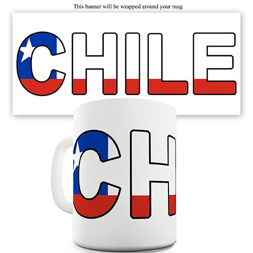 Chile World Cup Flag Novelty Mug