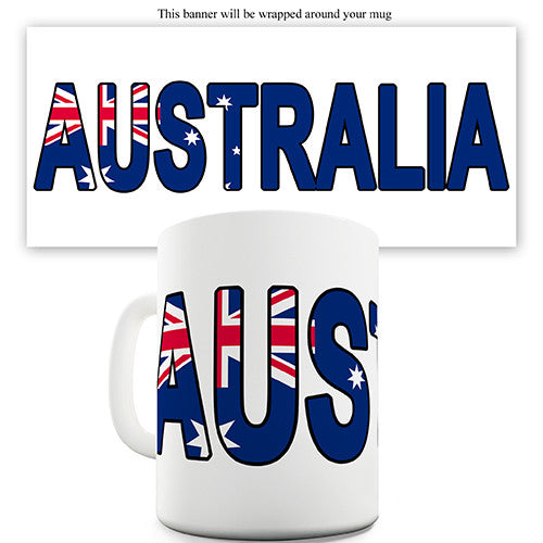 Australia World Cup Flag Novelty Mug