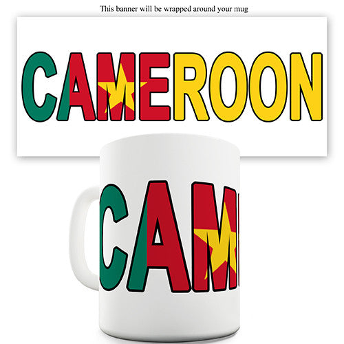 Cameroon World Cup Flag Novelty Mug