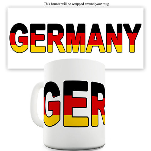 Germany World Cup Flag Novelty Mug