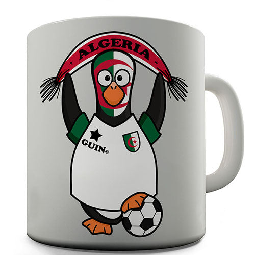 Algeria Soccer Guin World Cup Novelty Mug