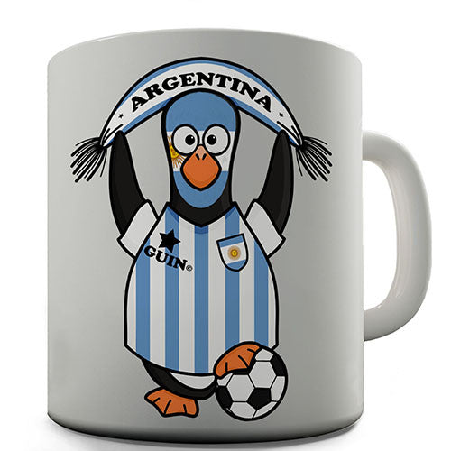 Argentina Soccer Guin World Cup Novelty Mug