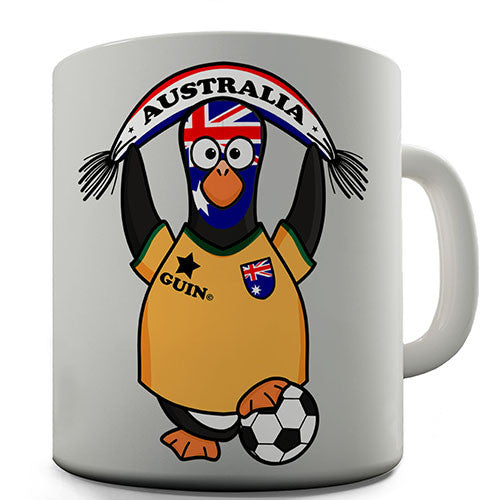 Australia Soccer Guin World Cup Novelty Mug