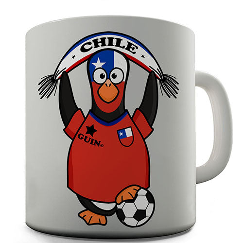 Chile Soccer Guin World Cup Novelty Mug