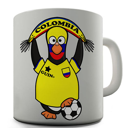 Columbia Soccer Guin World Cup Novelty Mug