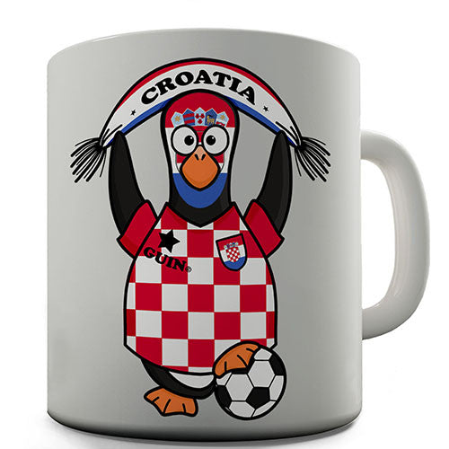 Croatia Soccer Guin World Cup Novelty Mug