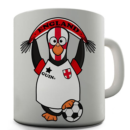 England Soccer Guin World Cup Novelty Mug