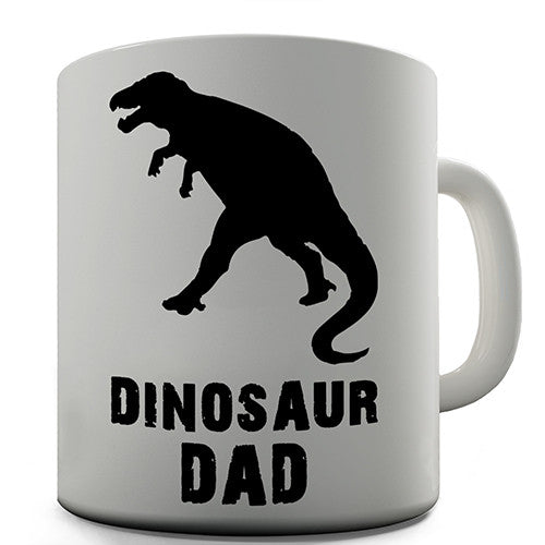 Dinosaur Dad Novelty Mug