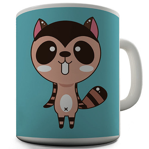 Cute Raccoon Novelty Mug