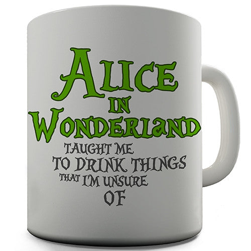 Alice In Wonderland Novelty Mug
